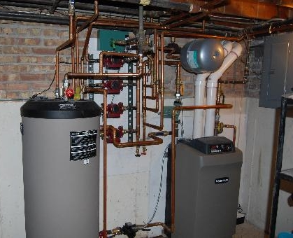 Chicago Heating Efficiency, Heat Timer, Boiler Controls, Outdoor Reset